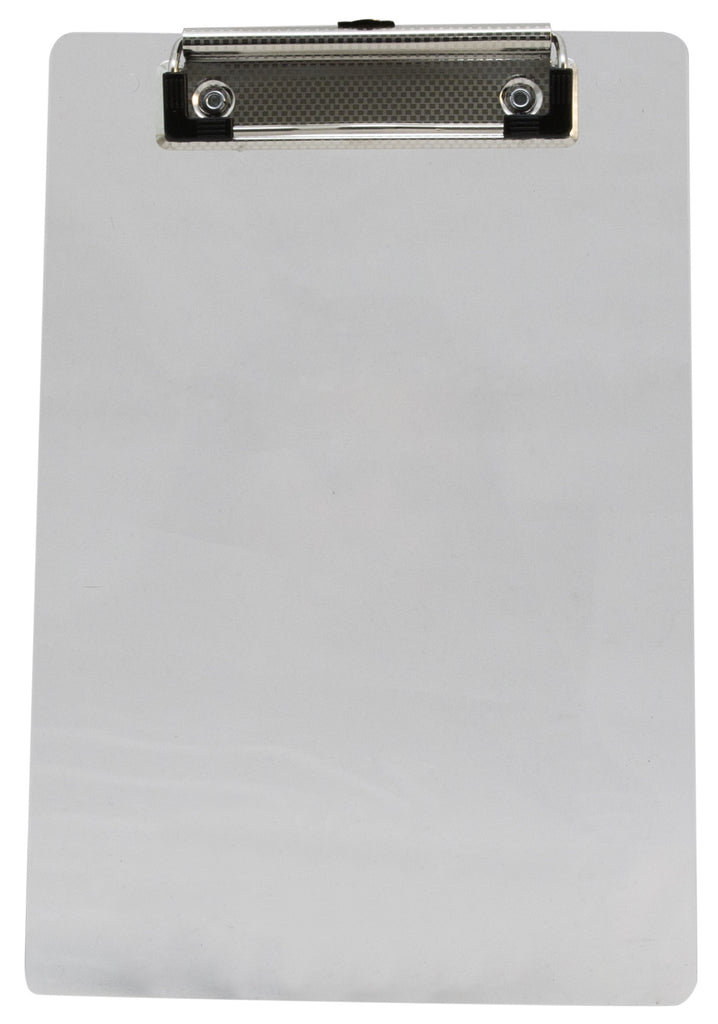 Recycled Plastic Clipboard - Clear - Memo (00516)