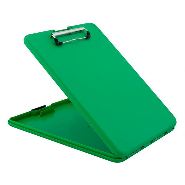 SlimMate Storage Clipboard - Green - Letter/A4 (00561)