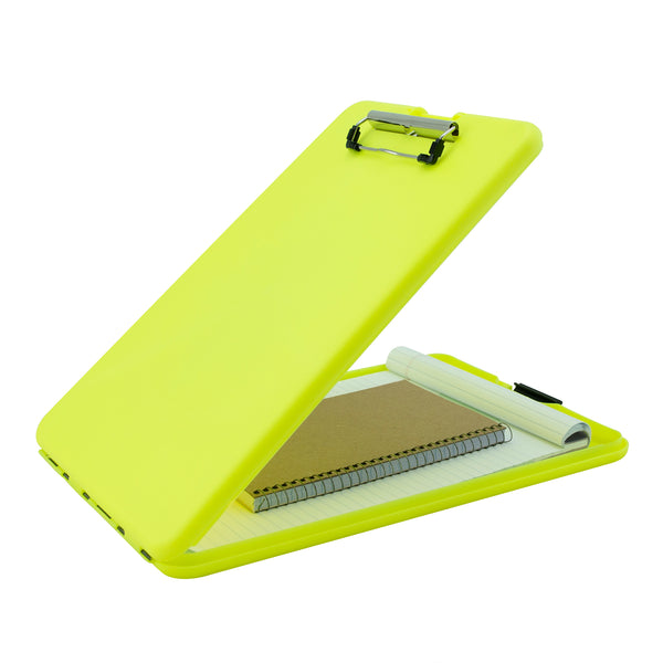 SlimMate Storage Clipboard - Hi-Vis Yellow - Letter/A4 (00573)