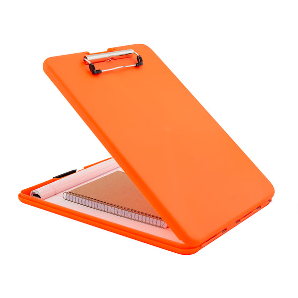 SlimMate Storage Clipboard - Hi-Vis Orange - Letter/A4  (00579)