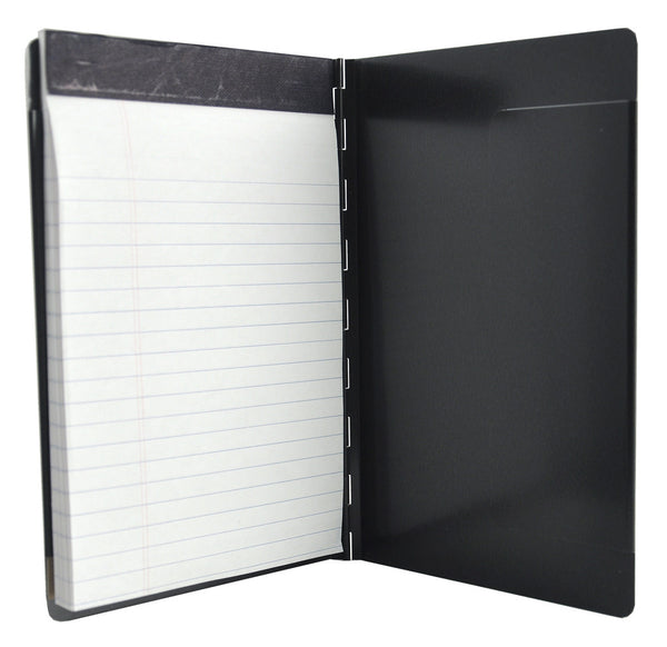 "Padfolio with Writing Pad - Black - 5.5"" x 8.25"" (00881)"