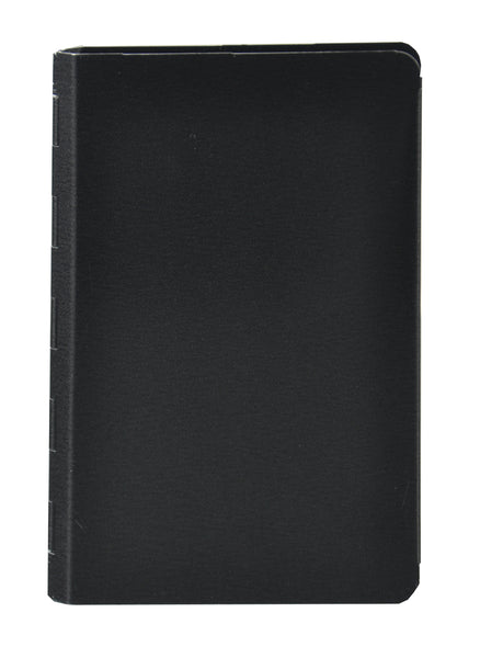 "Padfolio with Writing Pad - Black - 3.75"" x 5.75"" - (00883)"