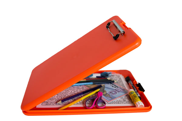 Bright Orange Artist Storage Clipboard (00935)