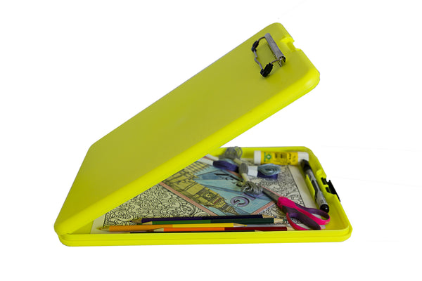 Bright Yellow Artist Storage Clipboard (00936)