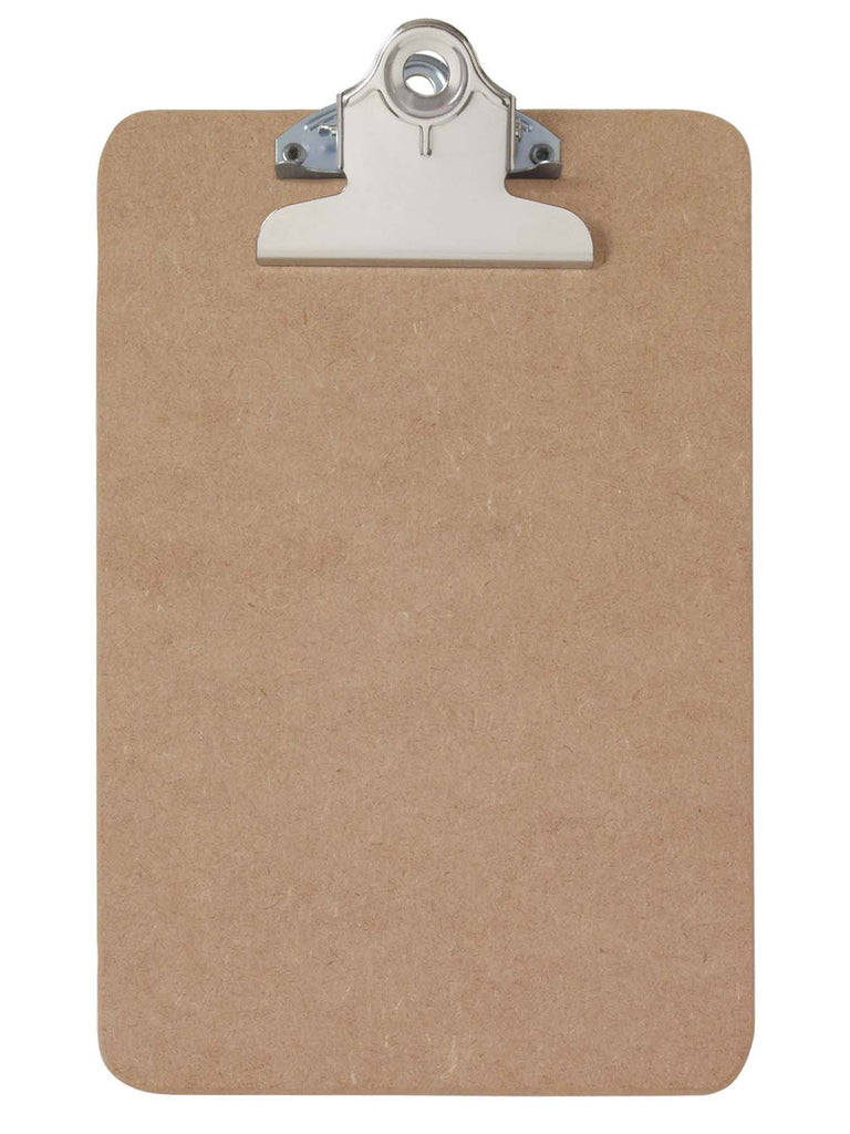 Recycled Hardboard Clipboard - Memo Size (05610)