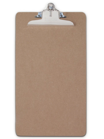Recycled Hardboard Clipboard - Legal Size - (05613)