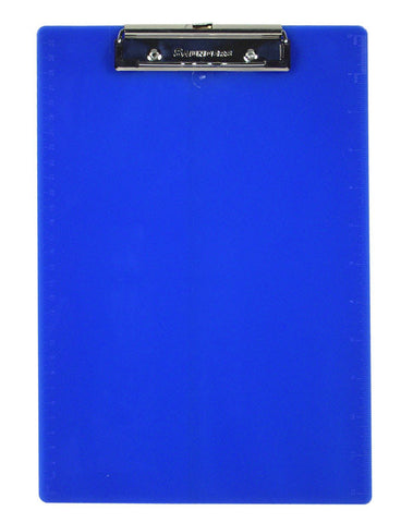Recycled Plastic Clipboard - Cobalt - Letter/A4 (21582)