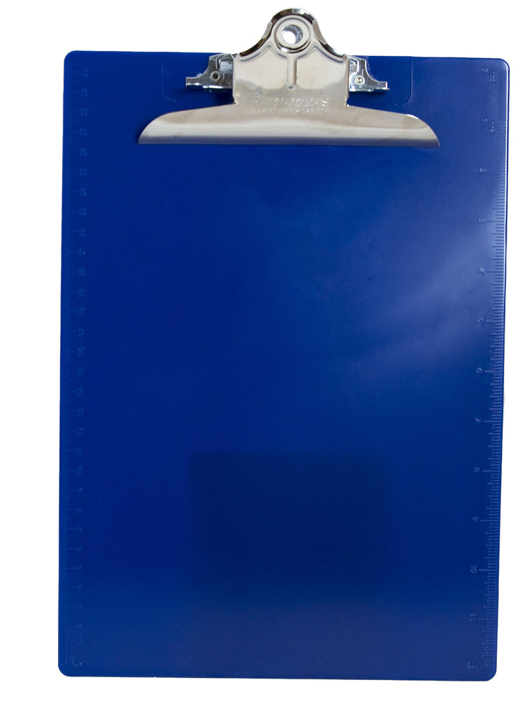 Recycled Plastic Clipboard - Blue - Letter/A4 (21602)