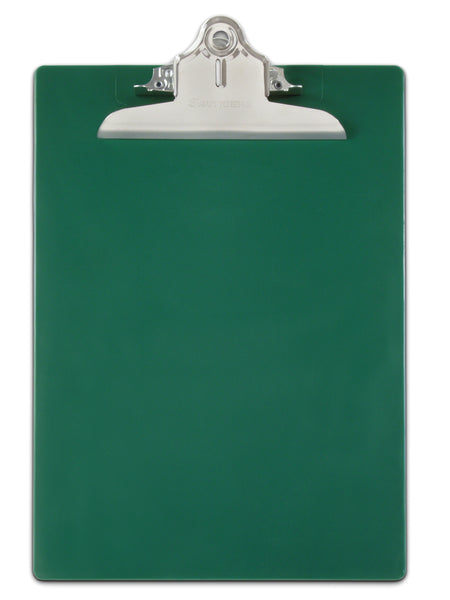 Recycled Plastic Clipboard - Green - Letter/A4 (21604)