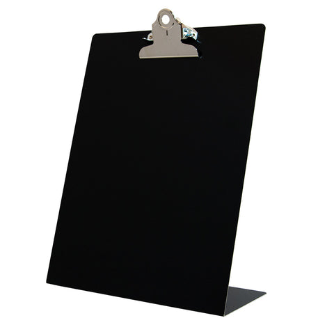Free Standing Clipboard - Black - Letter Size (22524)
