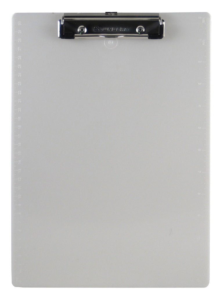 Recycled Plastic Clipboard - Pearl - Letter/A4 (00442)