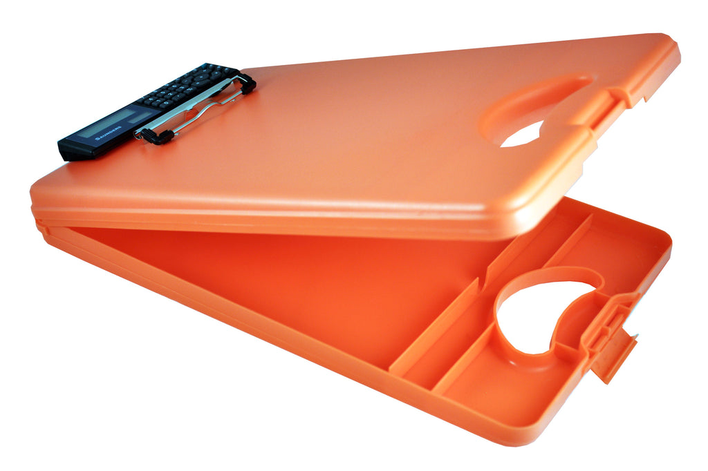DeskMate II w/Calculator - Orange - Letter Size (00543)