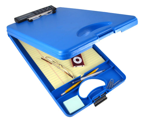 DeskMate II w/Calculator - Blue - Letter Size (00584)