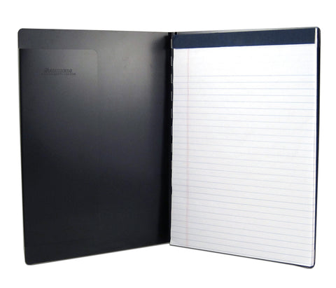 Padfolio with Writing Pad - Black - Letter Size (00879)