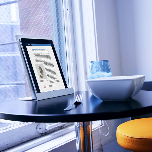Aluminum Tablet Stand - White (00889)