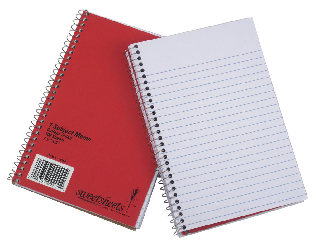 SweetSheets 100% Sugarcane Notebook - Memo Size (00900)