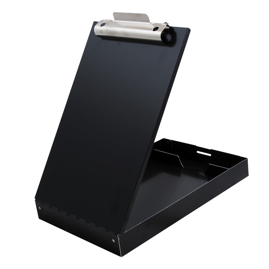 Redi-Rite® Recycled Aluminum Storage Clipboard - Black - Letter Size (11018)