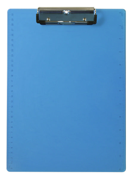 Acrylic Clipboard - Blue - Letter/A4 Size (21567)