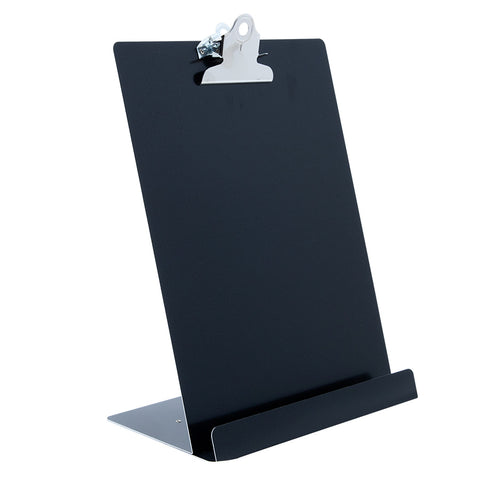 Free Standing Clipboard/Tablet Stand - Black - Letter Size (22521)