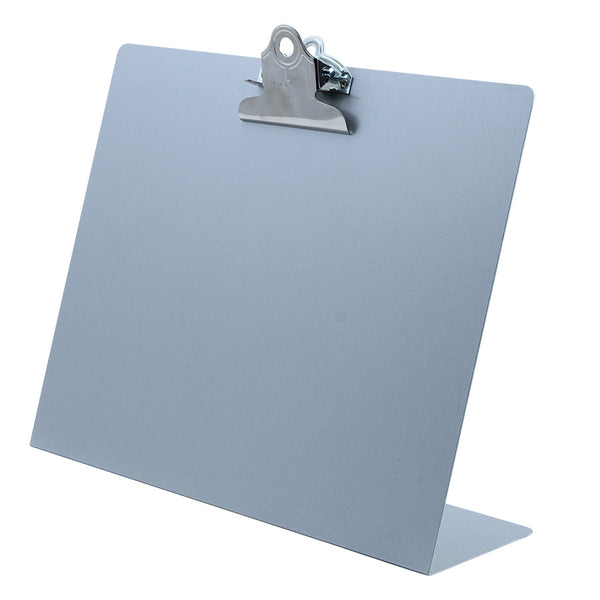 Landscape Free Standing Clipboard - Silver - Letter Size (22526)
