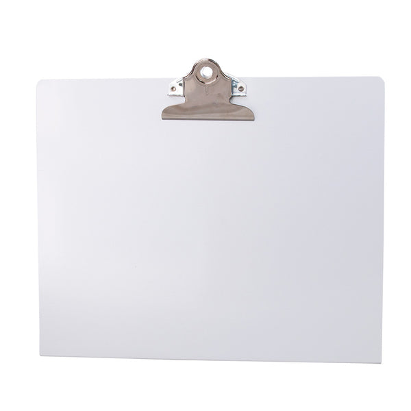 Landscape Free Standing Clipboard - White - Letter Size (22528)