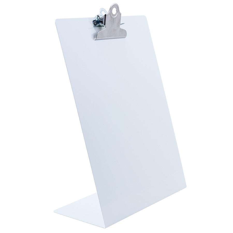 Free Standing Clipboard - White - Letter Size (22525)