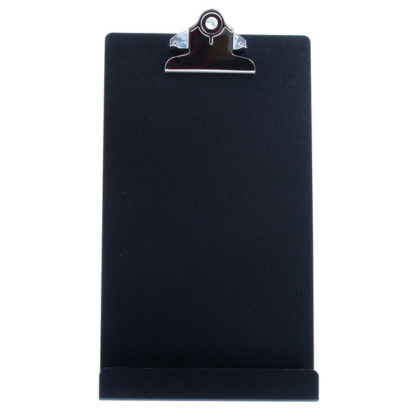 "Free Standing Clipboard/Tablet Stand - Black - 'Memo' Size: 6.5"" x 12.25"" (22530)"