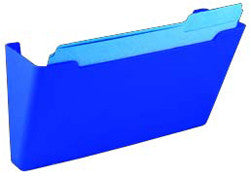 Wall File Pocket - Blue - Letter Size - 1pk (27281)