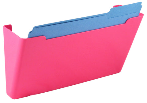 Wall File Pocket - Pink - Letter Size - 1pk (27296)