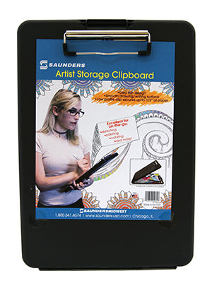 Black Artist Storage Clipboard (00932)