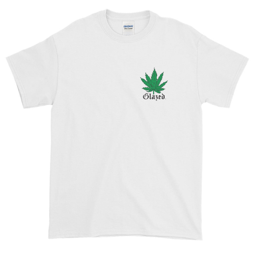 Men's - Glazed T-Shirt - Cannabis Plant