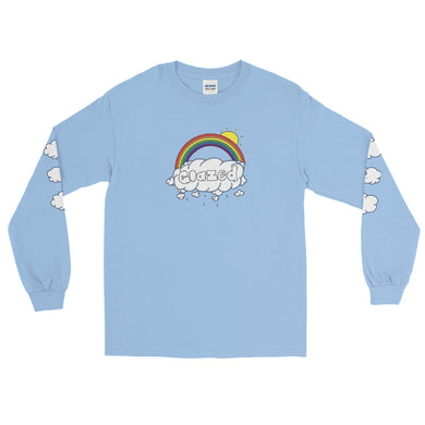 Glazed Long Sleeve T-Shirt - Silver Lining