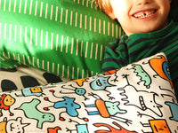 Mad Monster Friends Kids Cushion | Carla Martell