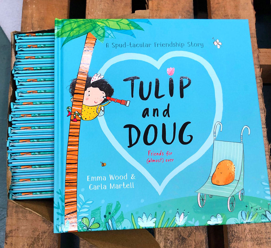 'Tulip and Doug' children's book (in the Scholastic warehouse)