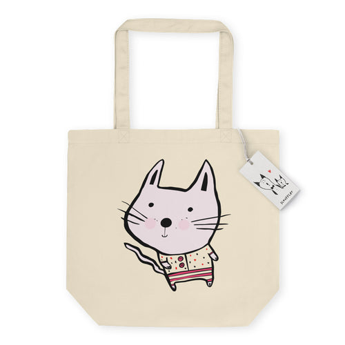 Scruffcat | Baby Cat Eco Tote Bag