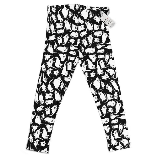 Carla Martell | Crazy Cats Kids Leggings