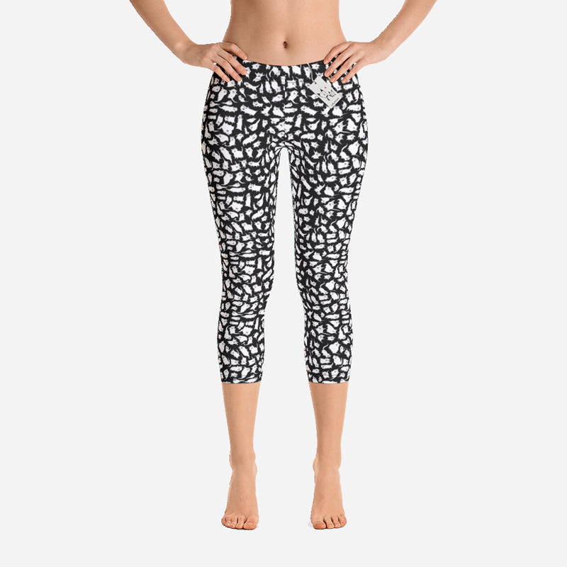 Scruffcat | Crazy Cats Capri Leggings