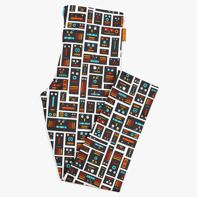 Robot Friends Kids Leggings | Carla Martell