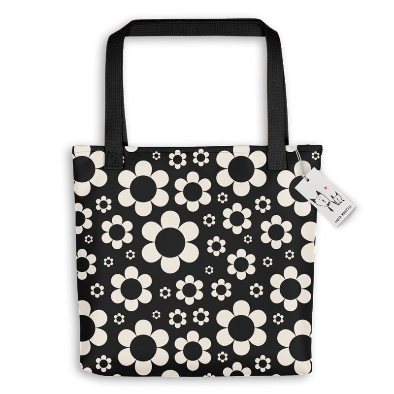Carla Martell | Dashing Daisies Tote Bag