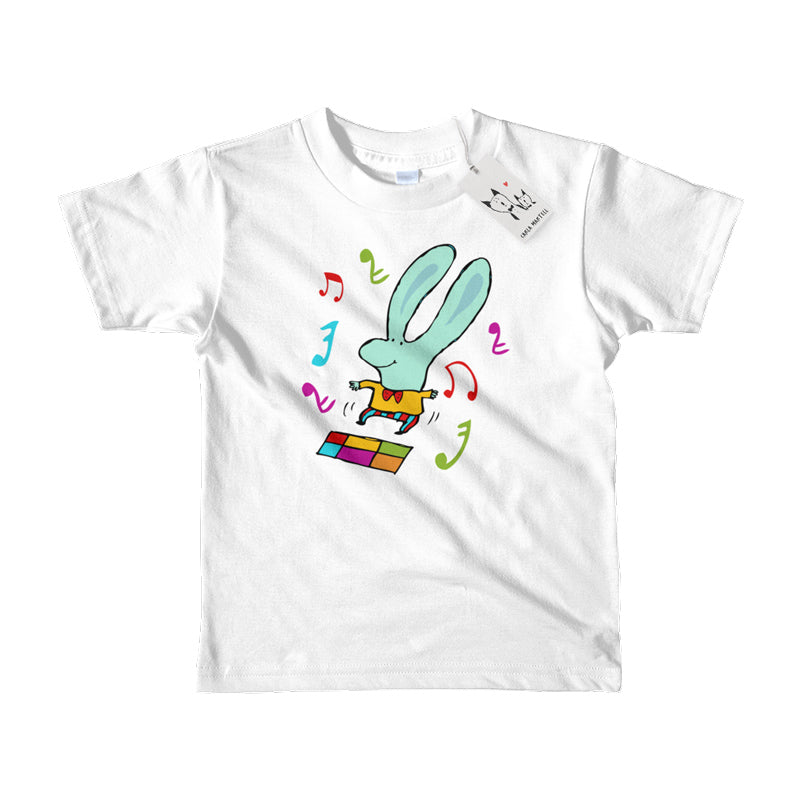 Carla Martell | Disco Bunny Little Kids T Shirt