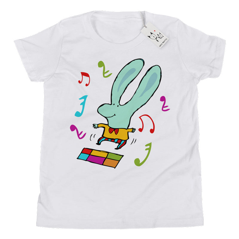 Carla Martell | Disco Bunny Big Kids T Shirt