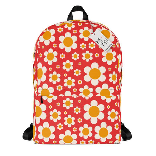 Carla Martell | Dotty Daisies Backpack