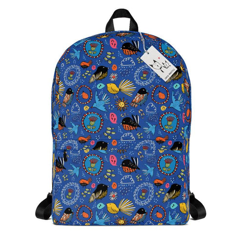 Carla Martell | Fantail Flower Garden Kiwiana Backpack