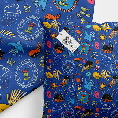 Carla Martell | Fantail Flower Garden Pillow