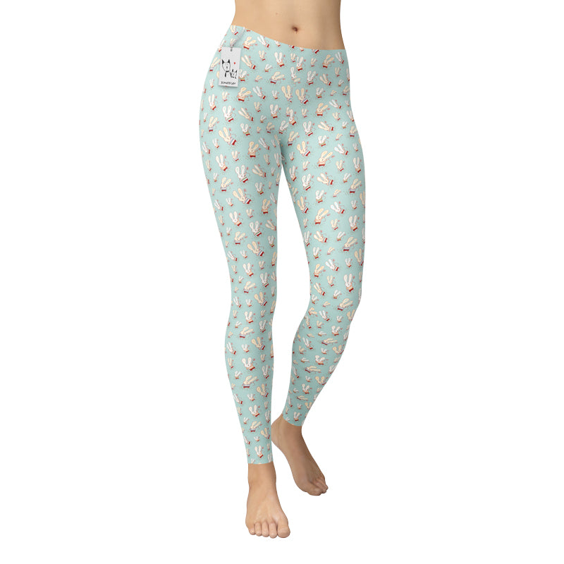 Flower Bunnies Leggings