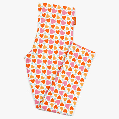 Happy Hearts Kids Leggings | Carla Martell