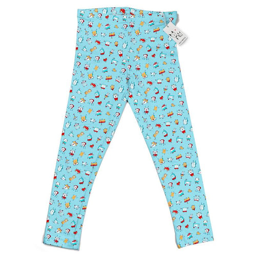 Carla Martell | Happy Little Robots Kids Leggings