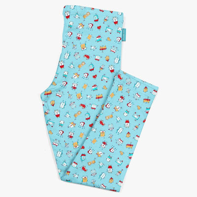 Happy Little Robots Kids Leggings | Carla Martell
