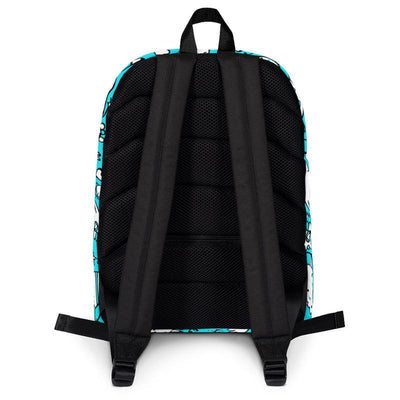 Carla Martell | La La Lovebirds Backpack | Back View