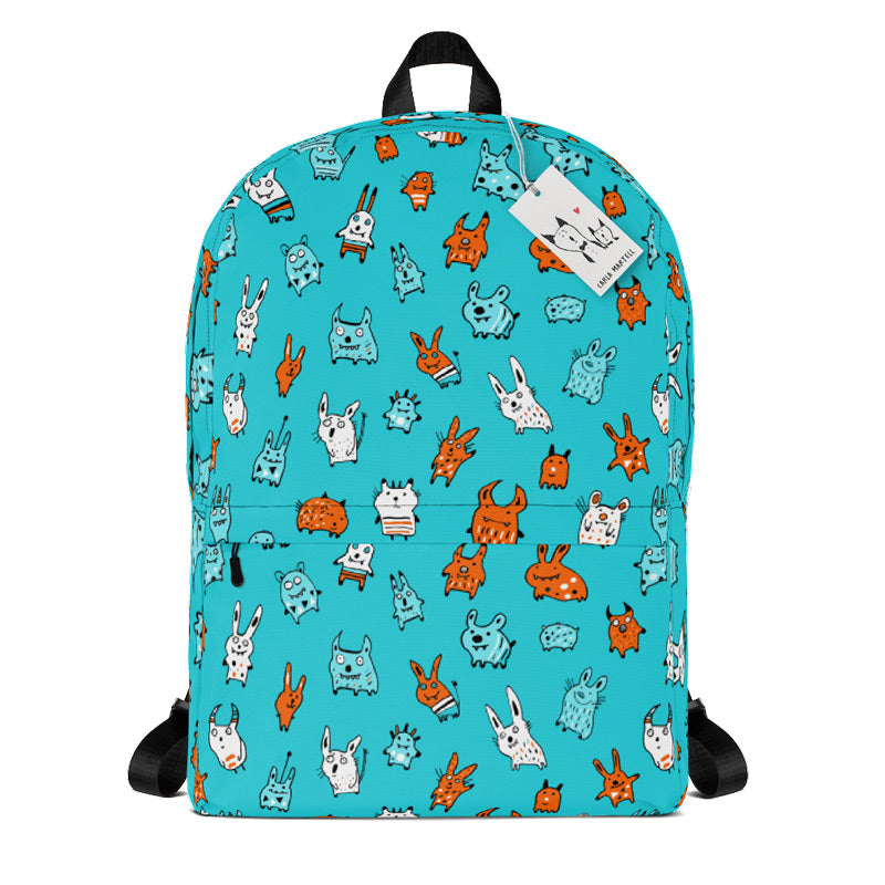 Carla Martell | Mini Monsters Kids Backpack